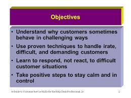 Chapter 5 Handling Difficult Customer Situations Ppt Download