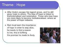 the shawshank redemption theme ppt video online theme hope