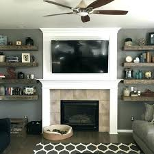 floating shelf over fireplace floating shelves fireplace floating shelves floating shelves above fireplace how to build