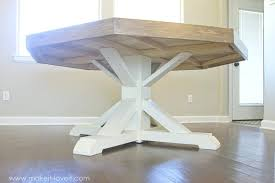 making a dining room table octagon dining room a farmhouse base seats 8 how to make a dining room table from an old door