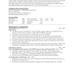 Pilot Resume Pilot Resume Marvelous Military Aviation Support Manager Air Force 81