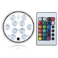 battery operated ceiling light with remote control