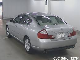 2005 Nissan Fuga Silver for sale | Stock No. 32794 | Japanese Used ...