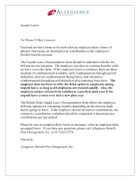 Block Letter Sample Employment Letter Format Pdf New Employee Resignation Form