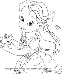 Princess Belle Coloring Pages Luxury Free Coloring Pages Princess