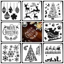 Christmas Templates In Craft Stencils Templates Ebay