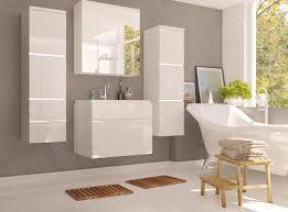 Badmöbel Set Porto Mit Waschbecken Und Siphon Modernes Badezimmer