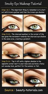 smoky eye makeup tutorial s needed dark brown eyeliner black eyeliner dark brown eyeshadow charcoal eyeshadow light bro
