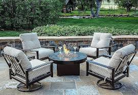 patio furniture fire pit outdoor