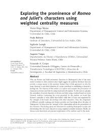 Pdf Exploring The Prominence Of Romeo And Juliet S