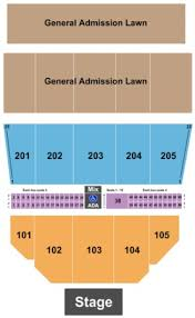 Waterfront Concerts Seating Chart Darlings Waterfront Pavilion Tickets In Bangor Maine