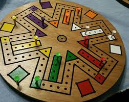 Wooden Sequence Board Game Wood board game Etsy 57