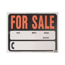 auto for sale sign hy ko auto car for sale sign 15 inch x 19 inch walmart com