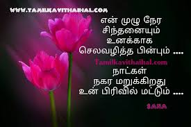 Real Life Love Quotes In Tamil With Pain Kavithai For Tamil Quotes