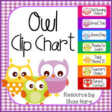Owl Behavior Clip Chart Owl Behavior Clip Chart Labels Positive Behavior Management