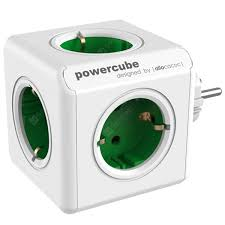 <b>Gocomma 1100 Magic Cube</b> 5 Socket EU Plug 3680W Travel Charger