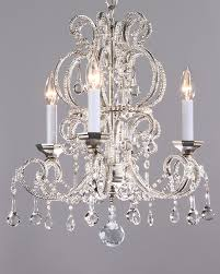 crystal chandeliers small crystal chandelier on a hand wrought iron frame with antiqued silver