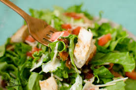 garden salad with chicken. Unique With Chicken Bacon Tomato And Cheese In A Green Garden Salad And Garden Salad With Chicken
