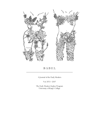 Babel 2017 By University Of Kings College Issuu