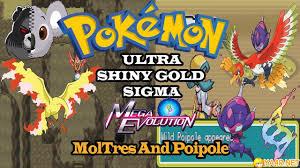 GBA] Pokemon Ultra Shiny Gold Sigma [FAN MADE] giả lập GameBoy