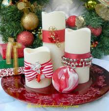 Simple Candle Decoration Furniture Accessories Ideas Of Easy Christmas Crafts By Martha