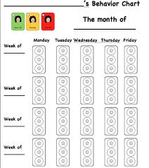 Stoplight Behavior Chart Templates Traffic Light Behavior System Classroom Behavior Chart