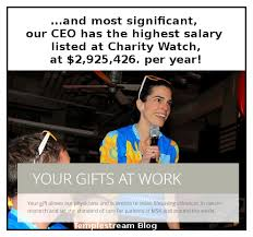 Charity Ceo Salaries Chart Templestream 17 Charity Ceo Salaries Over 1 Million