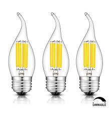 crlight led chandelier bulb dimmable bulb