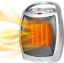 <b>Portable Electric Space Heater</b>, 1500W/750W Ceramic <b>Heater</b> with ...