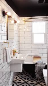 Black And White Bathroom 32 Best Black And White Bathrooms Images On Pinterest