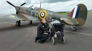 spitfire aircraft. spitfire hero who fulfilled dying wish to see legendary ww2 plane one last time dies just months after his visit aircraft