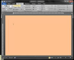 Small Picture How to change Microsoft Word page colour YouTube