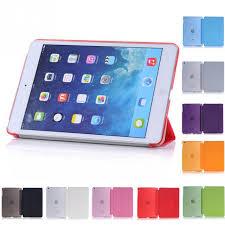 for ipad mini retina 9 colors original baseus simplism series wake up fold stand leather case