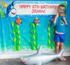 Shark Party Ideas Ocean Party Ideas At Birthday In A Box