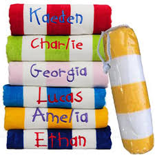 Kids Beach Towel and Pvc Bag