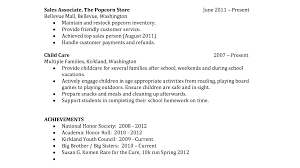 Resume Templates For Students With No Work Experience High School