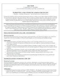 Marketing Resume Template Best Marketing Advertising Resume Sample Account Executive E Sales