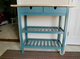 Teal Kitchen Kitchen Cart Done Togetherwearehome