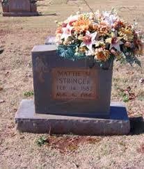 "Martha Wing ""Mattie"" Overcast Stringer (1883-1966) - Find A Grave ..."