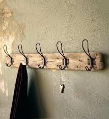 coat rack wall mounted wall mount coat hooks recycled wood wall mount coat rack wall mounted