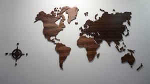Настенная <b>деревянная карта мира</b> - YouTube