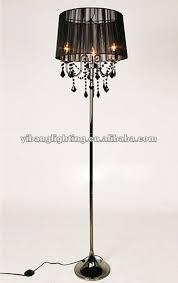 impressive gorgeous floor chandelier lighting 10 facts about black chandelier with regard to chandelier floor lamps popular