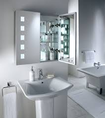 image of wondrous bathroom mirrors over sink for stainless steel cine cabinet including 3 tier glass