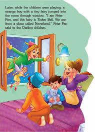 fancy story book peter pan