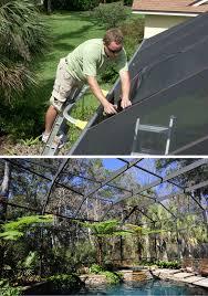 pool cage repair. Brilliant Repair Screen Repair Jacksonville Florida In Pool Cage C