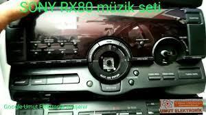 SONY RX80 MÜZİK SETİ - YouTube