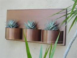 metal wall planters home depot planter