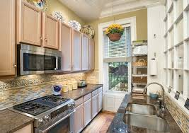 Galley Kitchen Designs Pictures And Gallery Kitchen Design Ideas With An  Attractive Method Of Ornaments Arrangement In Your Catchy Kitchen 25 Gallery