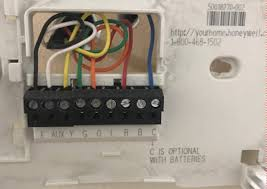 air conditioning how should i wire this thermostat home old enter image description here