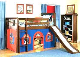Bunk bed with slide and desk Toddler Cheap Twin Loft Bed Kids Beds Slides Girls Loft Beds With Slides Slide Kids Bed Ideas Healthcomittmentinfo Cheap Twin Loft Bed Kids Beds Slides Girls Loft Beds With Slides